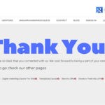Is Thank You Page Really Required For a Website